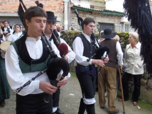Galician bagpipers-from Wikipedia