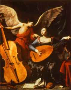 Saraceni-St-Cecilia-and-the-Angel