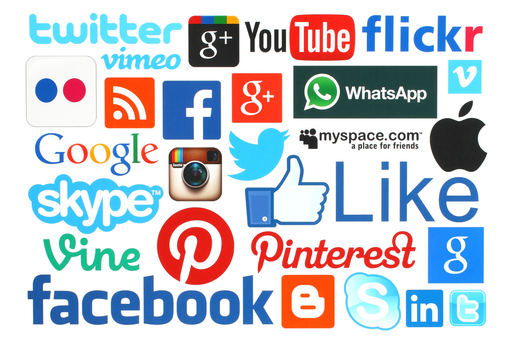 social media (editorial only)